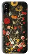 Flower Vase IPhone Case