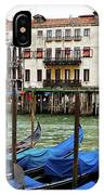 Gondola, Canals Of Venice, Italy IPhone Case
