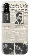 John F Kennedy (1917-1963) IPhone Case