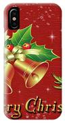 Christmas Card 9 IPhone Case
