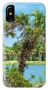 Palmetto Forest On Hunting Island Beach IPhone Case