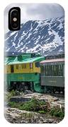 Scenic Train From Skagway To White Pass Alaska IPhone Case