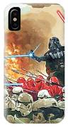 Star Wars At Poster IPhone Case