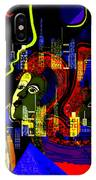103 -   Psychedelic City Night .. IPhone Case