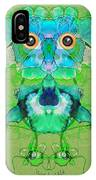 1045   Flower Owl 2017 IPhone Case