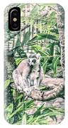 10773 Cotton Topped Tamarin IPhone Case