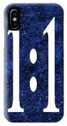 11 11 IPhone Case