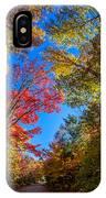Autumn Season In Killarney IPhone Case