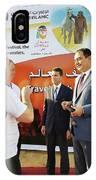 Dubai Travelers Festival IPhone Case