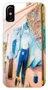 Mural Painting In Saludecio IPhone Case