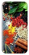 Spices And Herbs IPhone Case