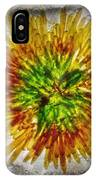11262 Flower Abstract Series 02 #16a IPhone Case