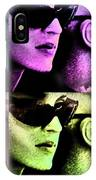 11438 Mannequin Series 11-14 Can You Keep A Secret Pop Art 2 IPhone Case