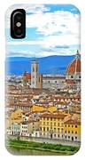 1166 Florence Italy IPhone Case