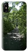 1174, Forest Path IPhone Case