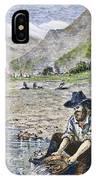 California Gold Rush IPhone Case