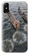 Fisherman Inle Lake - Myanmar IPhone Case