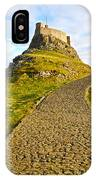 Lindisfarne Castle IPhone Case
