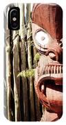 Maori Carving IPhone Case
