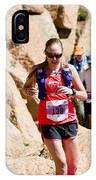 Pikes Peak Marathon And Ascent IPhone Case