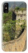 The Mutianyu Section Of The Great Wall Of China, Mutianyu Valley IPhone Case