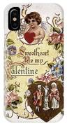 Valentines Day Card IPhone Case