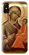 Virgin And Child Religious Art IPhone Case