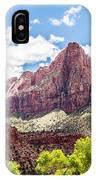 Zion Canyon National Park Utah IPhone Case