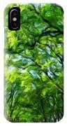 Nature Art Original Landscape Paintings IPhone Case