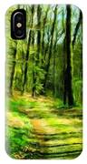 Nature Landscape Oil Painting On Canvas IPhone Case