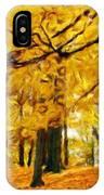 Painting Landscape IPhone Case