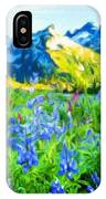 Nature Landscape Graphics IPhone Case
