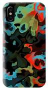 Fractal Modern Art Seamless Generated Texture IPhone Case