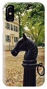 Nantucket Hitching Post IPhone X Case