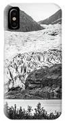 Panoramic View Of Mendenhall Glacier Juneau Alaska IPhone Case