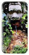 Public Fountain In Palma Majorca Spain IPhone Case