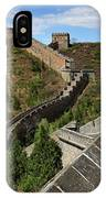The Great Wall Of China Near Jinshanling Village, Beijing IPhone Case