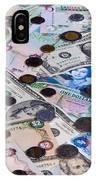 Travel Money - World Economy IPhone Case