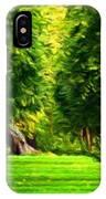 Nature Oil Canvas Landscape IPhone Case
