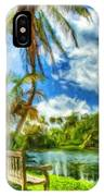 Oil Painting Landscape Pictures IPhone Case