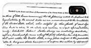 13th Amendment, 1865 IPhone Case