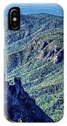 Hawksbill Mountain At Linville Gorge With Table Rock Mountain La IPhone Case