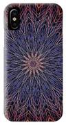 Kaleidoscope Image Created From Light Trails IPhone Case