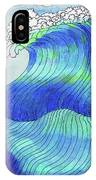 141 - Waves IPhone Case