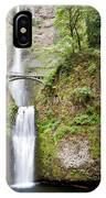 1417 Multnomah Falls IPhone Case