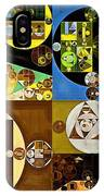 Abstract Painting - Zinnwaldite Brown IPhone Case