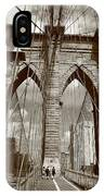 Brooklyn Bridge - New York City IPhone Case