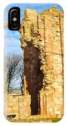 Lindisfarne Priory IPhone Case