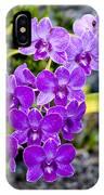 Orchids Kauai IPhone Case