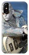 Silver Elvis IPhone Case